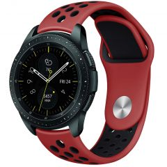 iMoshion Cinturino sportivo in Silicone Watch 46mm / Gear S3 Frontier / Classic / Watch 3 45mm - Rosso