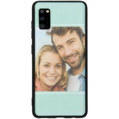 Cover Flessibile Personalizzate Samsung Galaxy A41 - Nero