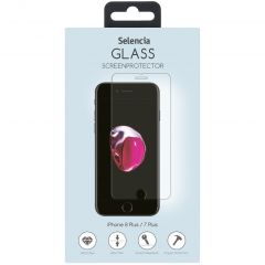 Selencia Pellicola Protettiva in Vetro Temperato iPhone 8 Plus / 7 Plus / 6(s) Plus