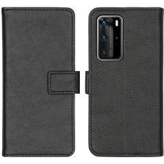 iMoshion Custodia Portafoglio de Luxe Huawei P40 Pro - Nero