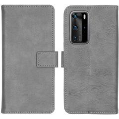 iMoshion Custodia Portafoglio de Luxe Huawei P40 Pro - Grigio