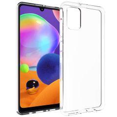 Accezz Cover Clear Samsung Galaxy A31 - Trasparente