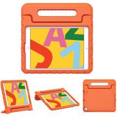 iMoshion Cover Antishoc Speciale Bambini con Manico iPad 10.2 (2019 / 2020 / 2021) - Arancio