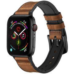 iMoshion Cinturino in Vera Pelle Apple Watch Series 1 t/m 6 / SE - 42/44mm - Marrone