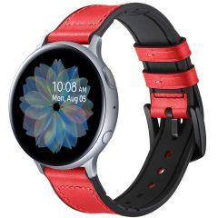 iMoshion Cinturino in Vera Pelle Galaxy Watch 40/42mm / Active 2 42/44mm / Watch 3 41mm - Rosso
