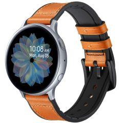 iMoshion Cinturino in Vera Pelle Galaxy Watch 40/42mm / Active 2 42/44mm / Watch 3 41mm - Marrone