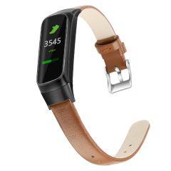 iMoshion Cinturino in Vera Pelle Samsung Galaxy Fit - Marrone