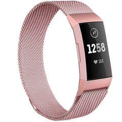 iMoshion Cinturino Milanese Fitbit Charge 3 / 4 - Rosa oro