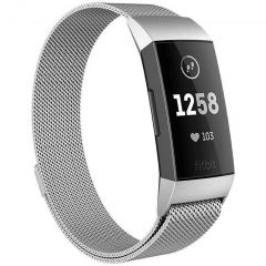 iMoshion Cinturino Milanese Fitbit Charge 3 / 4 - Argento