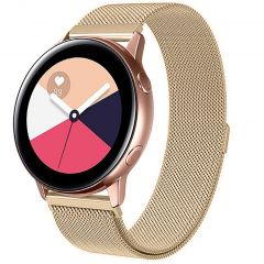 iMoshion Cinturino Milanese Galaxy Watch 40/42mm / Active 2 42/44mm / Watch 3 41mm - Oro
