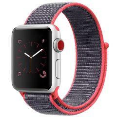 iMoshion Cinturino in nylon Apple Watch Series 1 t/m 6 / SE - 38/40mm - Rosa