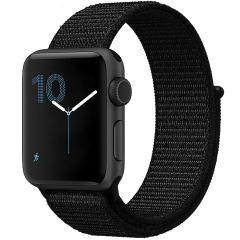 iMoshion Cinturino in nylon Apple Watch Series 1 t/m 6 / SE - 42/44mm - Nero