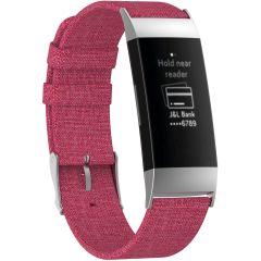 iMoshion Cinturino in nylon Fitbit Charge 3 / 4 - Rosa