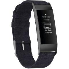 iMoshion Cinturino in nylon Fitbit Charge 3 / 4 - Nero