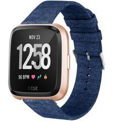 iMoshion Cinturino in nylon Fitbit Versa 2 / Versa Lite - Blu