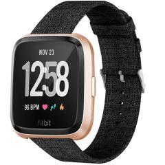 iMoshion Cinturino in nylon Fitbit Versa 2 / Versa Lite - Nero