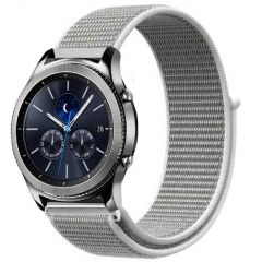 iMoshion Cinturino in nylon Samsung Galaxy Watch 46mm / Gear S3 Frontier / S3 Classic / Watch 3 45mm - Bianco