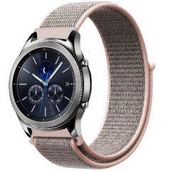 iMoshion Cinturino in nylon Samsung Galaxy Watch 46mm / Gear S3 Frontier / S3 Classic / Watch 3 45mm - Rosa