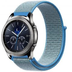 iMoshion Cinturino in nylon Samsung Galaxy Watch 46mm / Gear S3 Frontier / S3 Classic / Watch 3 45mm - Blu