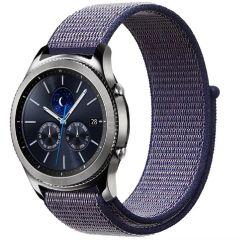 iMoshion Cinturino in nylon Samsung Galaxy Watch 46mm / Gear S3 Frontier / S3 Classic / Watch 3 45mm - Viola