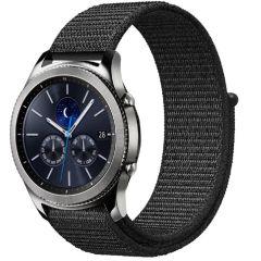 iMoshion Cinturino in nylon Samsung Galaxy Watch 46mm / Gear S3 Frontier / S3 Classic / Watch 3 45mm - Nero