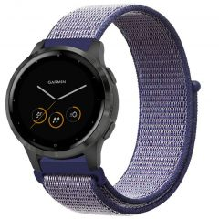 iMoshion Cinturino in nylon Garmin Vivoactive 4L - Blu