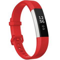 iMoshion Cinturino in Silicone Fitbit Alta (HR) - Rosso