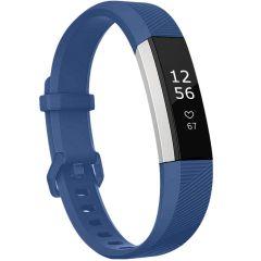 iMoshion Cinturino in Silicone Fitbit Alta (HR) - Blu scuro