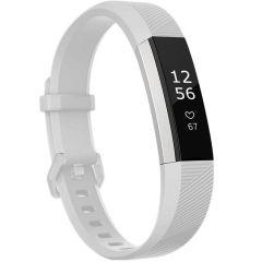 iMoshion Cinturino in Silicone Fitbit Alta (HR) - Bianco