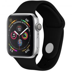 iMoshion Cinturino in Silicone Apple Watch Series 1 t/m 6 / SE - Nero