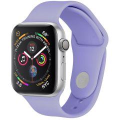 iMoshion Cinturino in Silicone Apple Watch Series 1 t/m 6 / SE - Viola