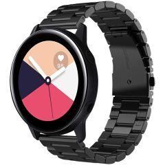 iMoshion Cinturino in acciaio Samsung Galaxy Watch 40/42mm / Active 2 42/44mm / Watch 3 41mm - Nero
