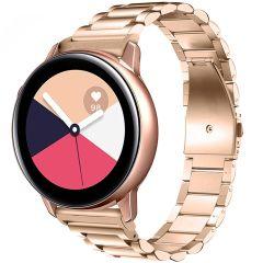 iMoshion Cinturino in acciaio Galaxy Watch 40/42mm / Active 2 42/44mm / Watch 3 41mm - Rosa oro