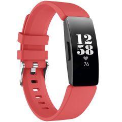 iMoshion Cinturino in Silicone Fitbit Inspire - Rosso