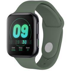 iMoshion Cinturino in Silicone Oppo Watch 41 mm - Verde