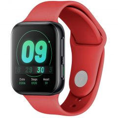 iMoshion Cinturino in Silicone Oppo Watch 41 mm - Rosso