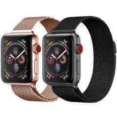 iMoshion Milanese Cinturino Multipack Apple Watch Series 1 t/m 6 / SE - 42/44 mm