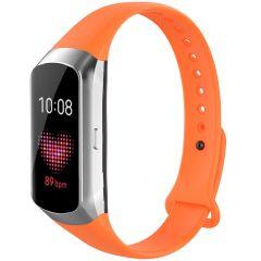 iMoshion Cinturino in Silicone Samsung Galaxy Fit - Arancio