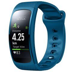 iMoshion Cinturino in Silicone Samsung Gear Fit 2 / 2 Pro - Blu