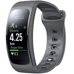 iMoshion Cinturino in Silicone Samsung Gear Fit 2 / 2 Pro - Grigio
