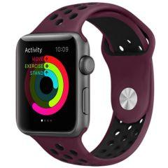 iMoshion Cinturino sportivo in Silicone Apple Watch Series 1 t/m 6 / SE - 38/40mm - Rosso