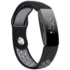 iMoshion Cinturino sportivo in Silicone Fitbit Inspire - Nero / grigio