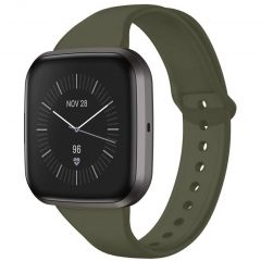 iMoshion Cinturino in Silicone Fitbit Versa 2 / Versa Lite - Verde scuro