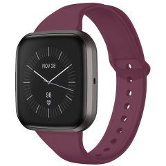 iMoshion Cinturino in Silicone Fitbit Versa 2 / Versa Lite - Rosso scuro