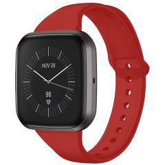 iMoshion Cinturino in Silicone Fitbit Versa 2 / Versa Lite - Rosso