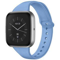 iMoshion Cinturino in Silicone Fitbit Versa 2 / Versa Lite - Azzurro
