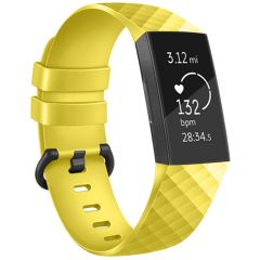 iMoshion Cinturino in Silicone Fitbit Charge 3 / 4 - Giallo