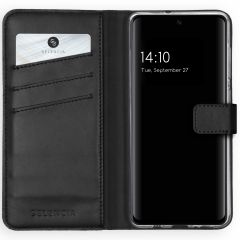 Selencia Custodia Portafoglio in Vera Pelle Samsung Galaxy A51 - Nero