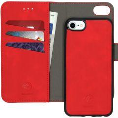 iMoshion Custodia rimovibile 2-in-1 de Luxe iPhone SE (2020) / 8 / 7 / 6(s) - Rosso