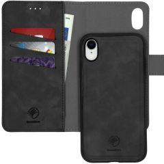 iMoshion Custodia rimovibile 2-in-1 de Luxe iPhone Xr - Nero